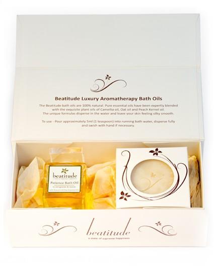 Patience Aromatherapy Bath Oil Gift Box
