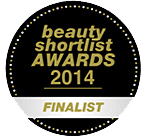 Finalist for the Beauty Shortlist Awards 2014