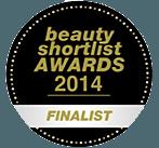 Finalist for the Beauty Shortlist Awards 2014