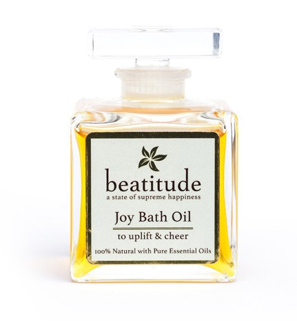 Beatitude Joy Bath Oil to Uplift and Cheer