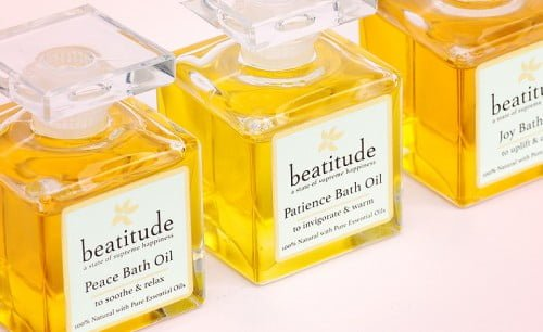 Beatitude Bath Oils - Peace, Patience and Joy