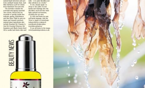 Press Review of Skin Salvation Facial Oil