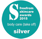 Silver Award for Peace Bath Oil