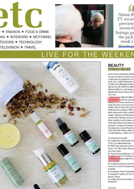 The Herald Review Beatitude Facial Oil