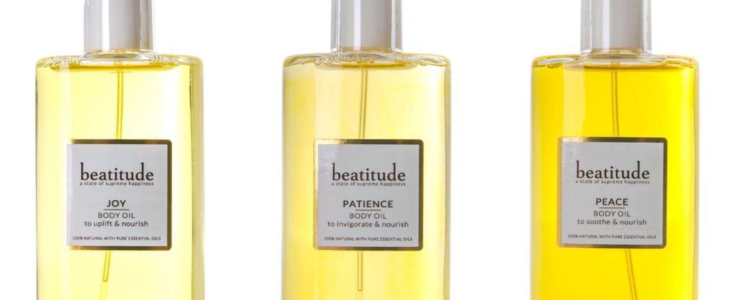 The Beatitude Shop - Aromatherapy Bath Oils, Body Oils